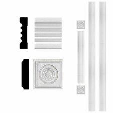 3/4 in. x 3 in. x 8 ft. MDF Fluted Door Casing Set Moulding