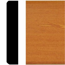 3/4 in. x 4 in. x 8 ft. Hardwood Stained Cherry Mullion Chair Rail Moulding