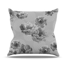 Lace Peony by Pellerina Design Floral Throw Pillow