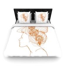 """""""Organic"""" Woven Comforter Duvet Cover"""