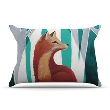 Fox Forest Pillow Case