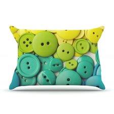 Cute As A Button Pillow Case