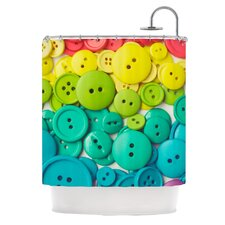 Cute As A Button Shower Curtain