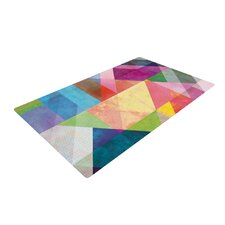 Color Blocking Rainbow Abstract Area Rug