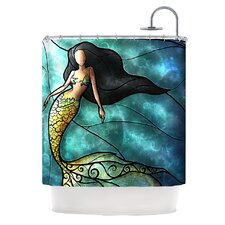 Mermaid Polyester Shower Curtain