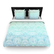 """Clouds in the Sky"" Woven Comforter Duvet Cover"