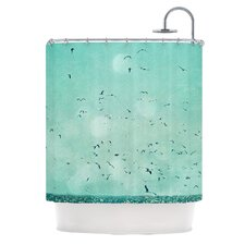 Down by The Sea Polyester Shower Curtain
