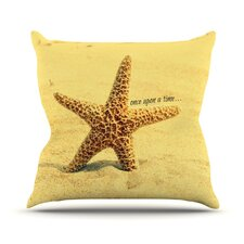 Once Upon A Time Polyester Throw Pillow