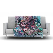 Poetry in Motion Throw Blanket