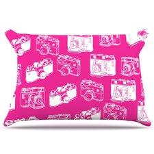 Camera Pattern Pillowcase