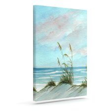 'Sea Oats' by Rosie Brown Painting Print on Wrapped Canvas