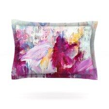 Magenta Paint Cotton Pillow Sham