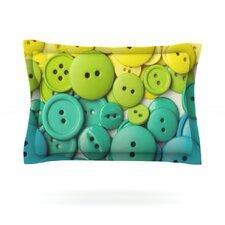 Cute as a Button by Libertad Leal Pillow Sham