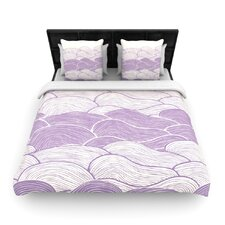 The Lavender Seas by Pom Graphic Woven Duvet Cover