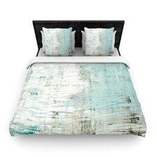 Bluish Green by Iris Lehnhardt Light Duvet Cover