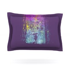 Purple Rain by Frederic Levy-Hadida Pillow Sham