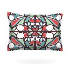 Brown Round Tiles by Miranda Mol Pillow Sham