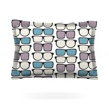 Spectacles Geek Chic by Michelle Drew Pillow Sham
