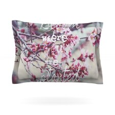 Bloom Pink by Suzanne Carter Pillow Sham