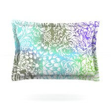 Blue Bloom Softly for You by Vikki Salmela Pillow Sham