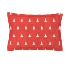 Pine Pattern by Snap Studio Cotton Pillow Sham