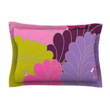 Moroccan Leaves by Nicole Ketchum Pillow Sham