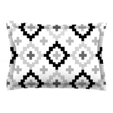 Black White Moroccan by Pellerina Design Pillow Sham