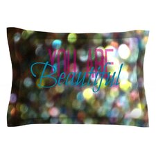 You Are Beautiful II by Robin Dickinson Pillow Sham