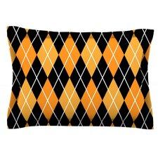 Argyle Woven Pillow Sham