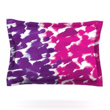 Fleeting Purple by Emine Ortega Cotton Pillow Sham