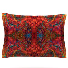 Red Sea Abstract Pillow Sham