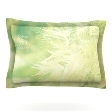 Love You More by Robin Dickinson Pillow Sham