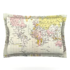 Travel by Catherine Holcombe Pillow Sham