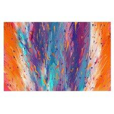 Colorful Fire Doormat
