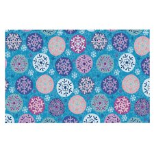 Floral Winter by Julia Grifol Decorative Doormat