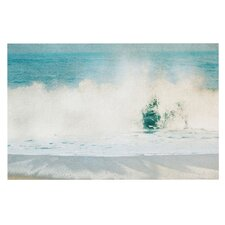 Ocean Blues Wave Doormat