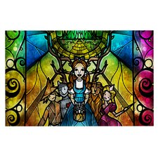 Wizard of Oz by Mandie Manzano Fantasy Decorative Doormat