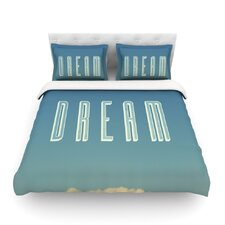 Dream Print by Galaxy Eyes Light Duvet Cover