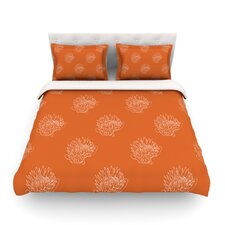 Simpley Protea by Anneline Sophia Light Cotton Duvet Cover