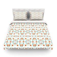 Italian Kitchen Orange by Miranda Mol Light Cotton Duvet Cover