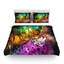Sleeping Beauty by Mandie Manzano Light Duvet Cover