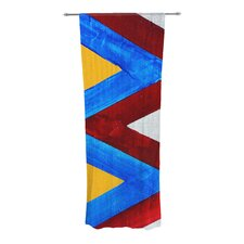 Zig Zag Curtain Panels (Set of 2)