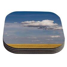 Big Sky by Ann Barnes Clouds Coaster (Set of 4)