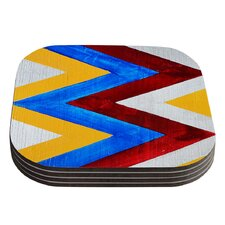 Zig Zag by Brittany Guarino Coaster (Set of 4)