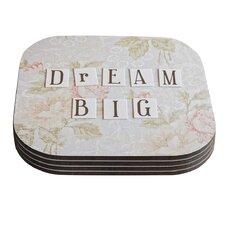 Dream Big by Debbra Obertanec Coaster (Set of 4)