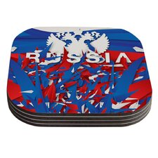 Russia by Danny Ivan Coaster (Set of 4)