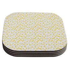 Lemon Drop by Julie Hamilton Coaster (Set of 4)