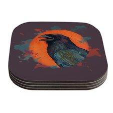 Raven Sun Alternate by Lydia Martin Coaster (Set of 4)