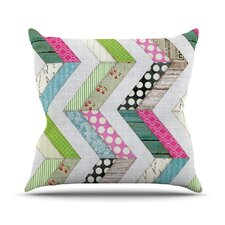 Fabric Much? by Heidi Jennings Cloth Throw Pillow