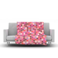 Blush by Nandita Singh Fleece Throw Blanket